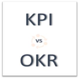 what is the difference between kpi and okr