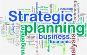 Strategic planning with goals and objectives