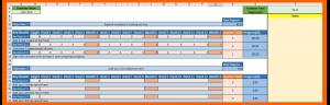 OKR template for a logistics company